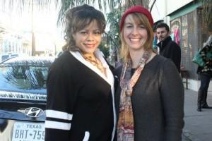 Mariposa, me and an Oryan photobomb