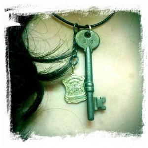 Badge 2414 and DPD Police Box Key