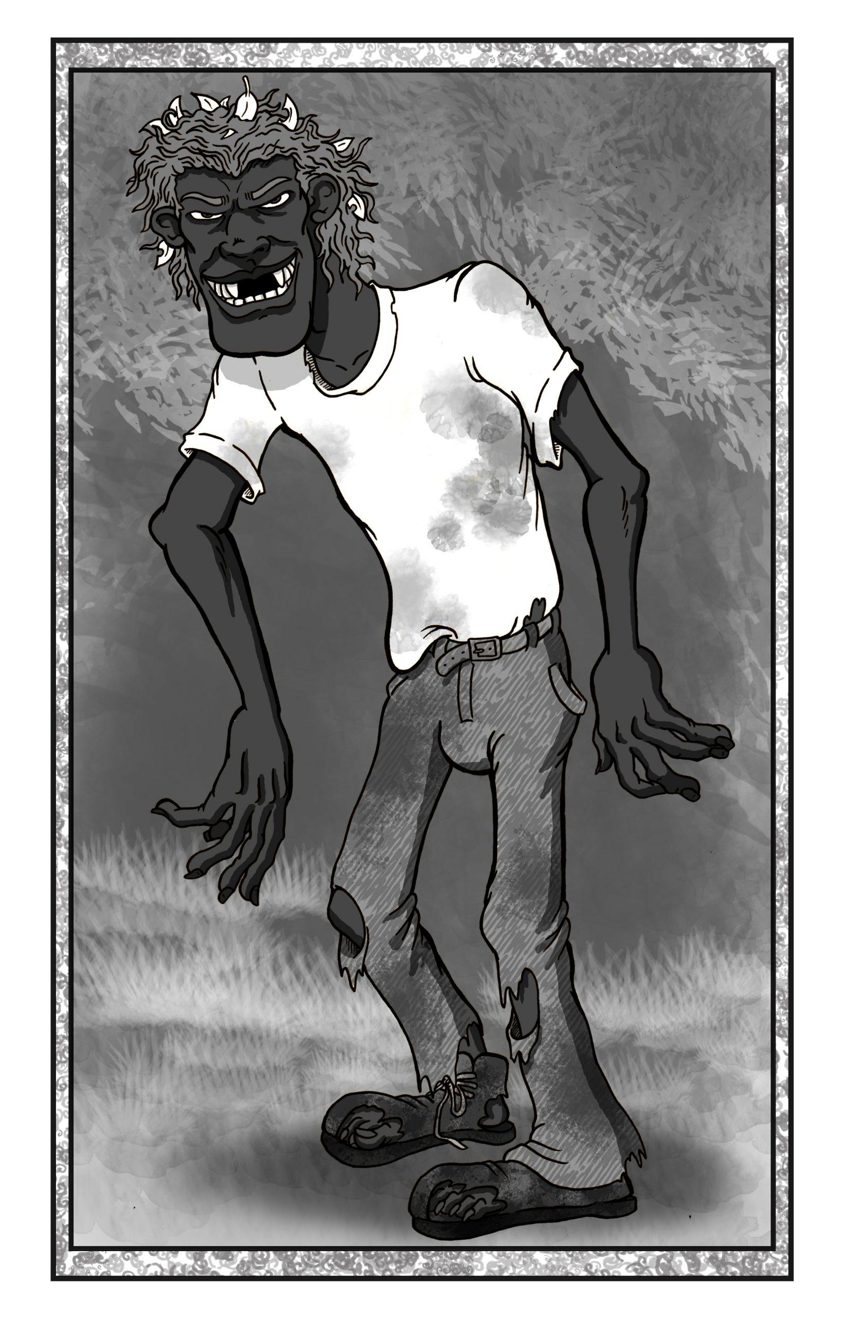 """De Paat'"" Artwork copyright Ron Maxwell, 2014"